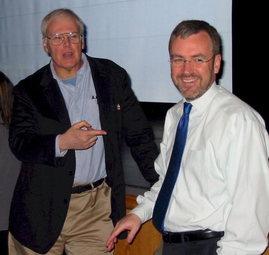 The centurion former bucks student steve capus resigning for Steve calkins