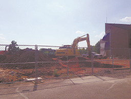 Construction starts rolling on new S.T.E.M. Building