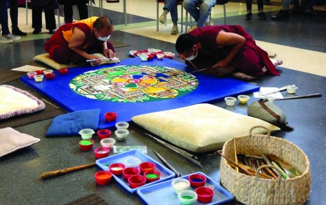 Tibetan Monks visit Bucks to give a glimpse into their culture