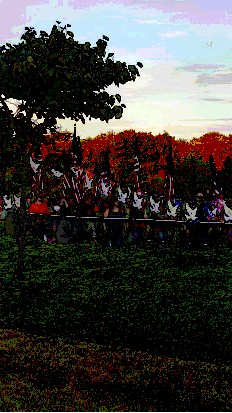 Ceremony at Garden of Reflection in Lower Makefield Pays Tribute to Fallen 9/11 Victims