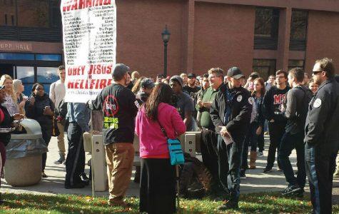 On-Campus Demonstration Turns Violent