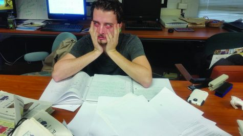 Students Stressed as Finals Approach