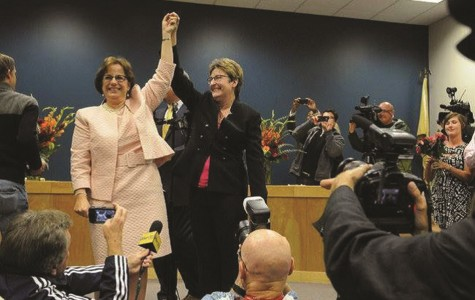 Former Bucks student is first to wed following passage of same-sex marriage law in NJ