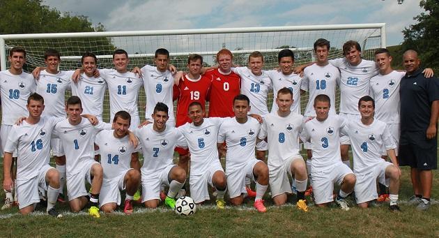 BCCC-2014 Mens Soccer Team