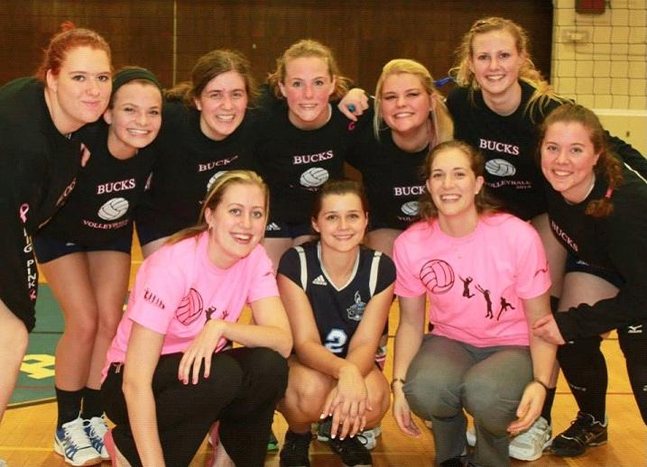 The women's volleyball team
