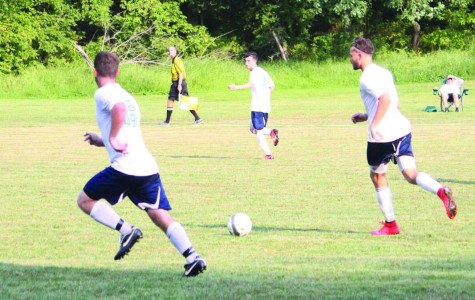 Men's  soccer looks on to a successful post-season