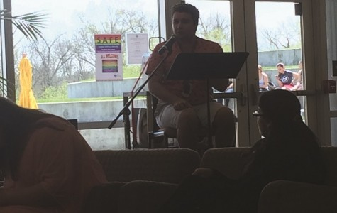 Upper Bucks campus hosted an open mic poetry reading