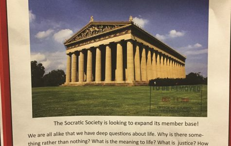 Socratic Society Scholars Scramble for Students