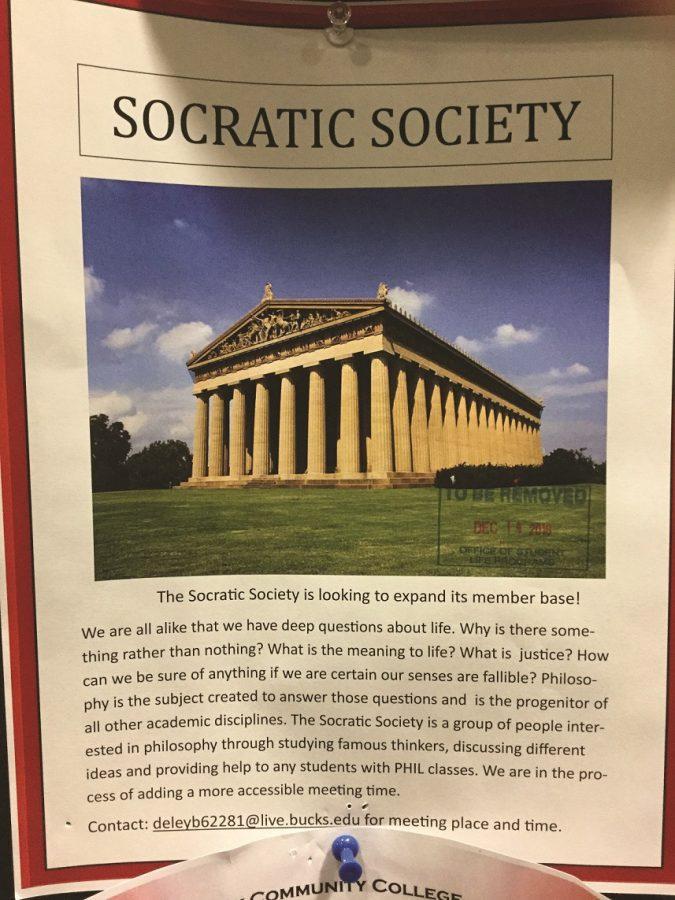 Socratic Society Scholars Scramble for Students