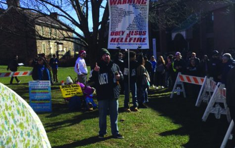Protesters Return to Newtown Campus