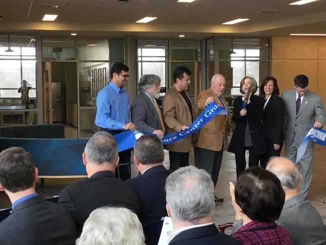 Bucks President Unveils New STEM Building
