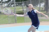 Women's Tennis Team Tails Behind 2-7 With New Coach During Fall Season's Tough Tournaments