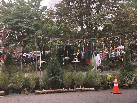 Pop-up Park Attracts Tourists in Doylestown