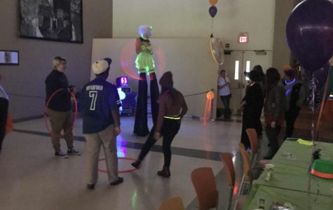 Students Hold a Spooky Halloween Party