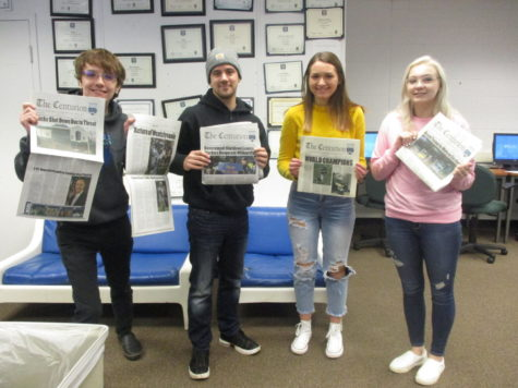 Centurion Staff Cleans Up at the 2018 Keystone Press Awards