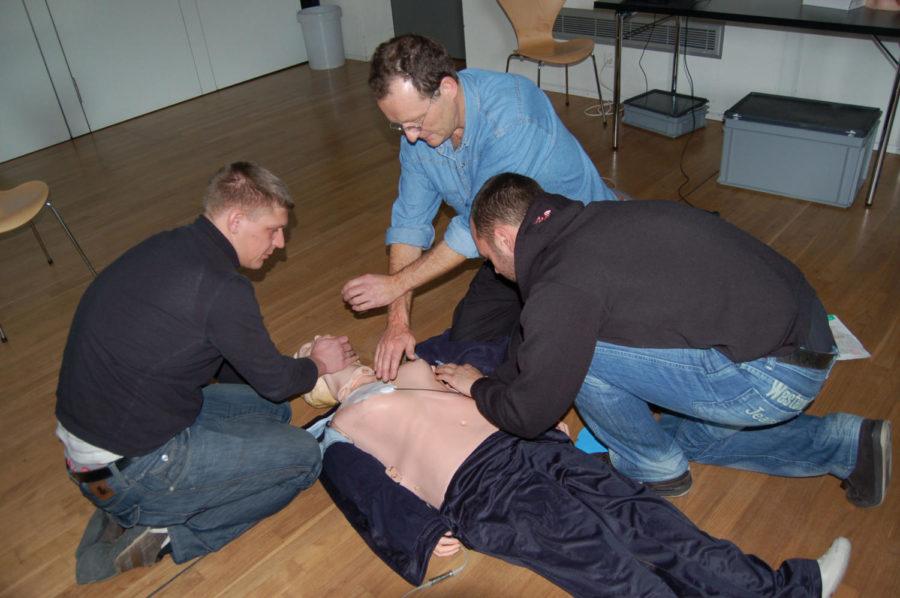 Valentine's CPR Training In Linksz Pavilion