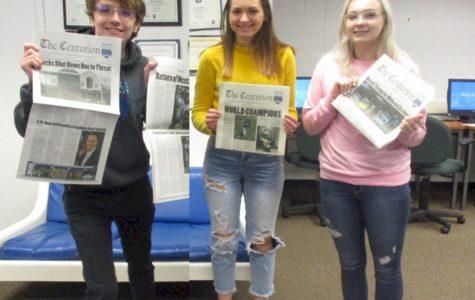 Award winners Frank Klingenberg, Sarah Siock and Keri Marable
