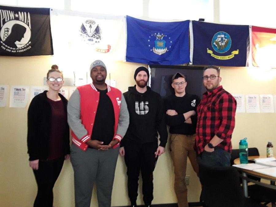 Veterans Club Welcoming  New Members