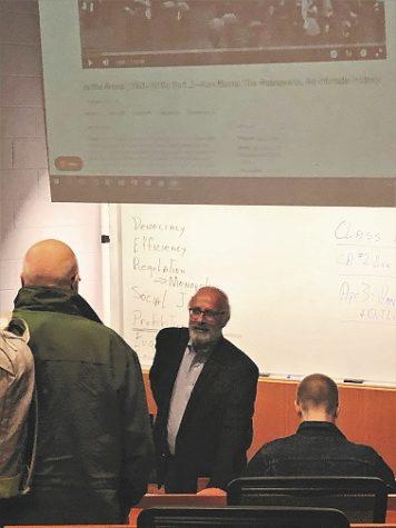 Professor John Petito, photo courtesy of Sarah Siock