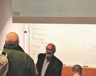 Leading by Example: A Look Into Professor Petito's Classroom