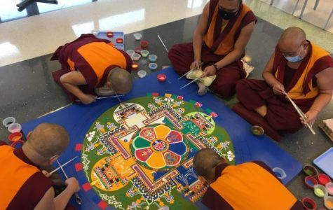 Tibetan Refugee Monks Return to Bucks Solarium