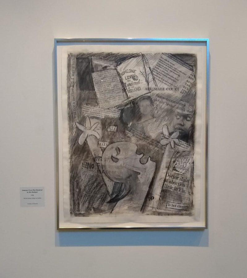Former Bucks Professor Art on Display in Hicks